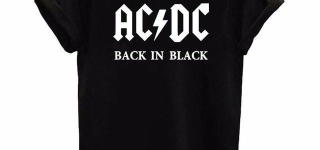 AC DC shirt