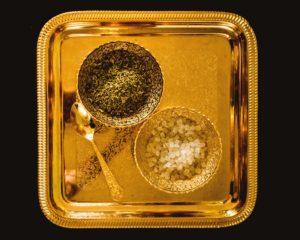 Gouden schaal