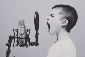 kinder microfoon